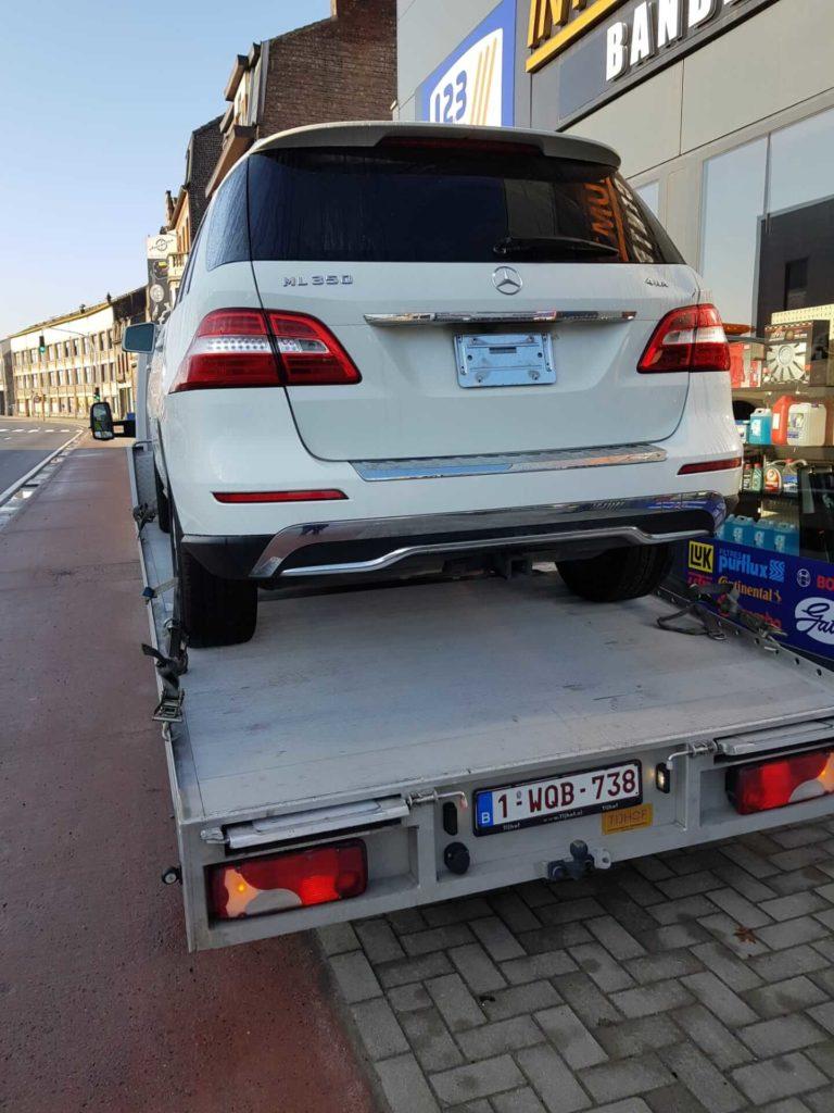 Depannage remorquge voiture auto bruxelles