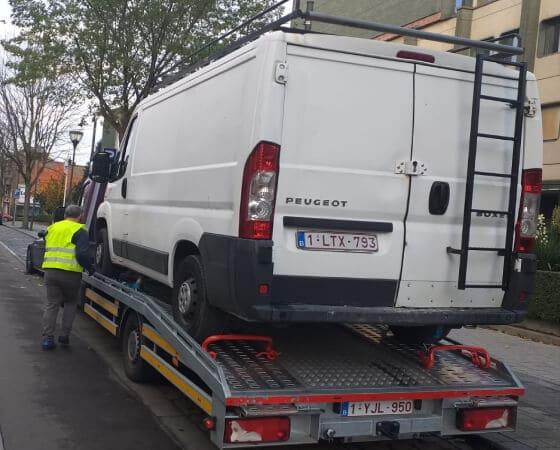 dépannage remorquage camionnette